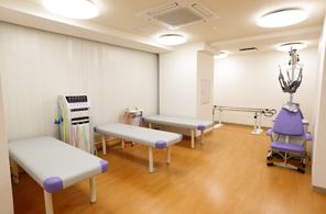リハビリ室 施術台